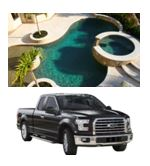 One person will win $50,000 for home improvements and a Ford F-150 4x4 truck!