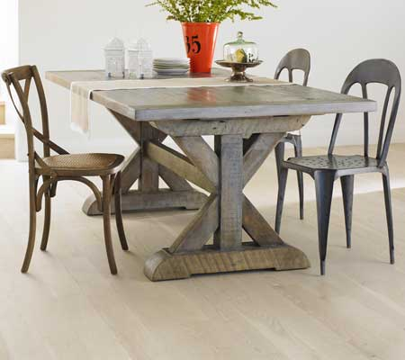 Bowmont Trestle dining table