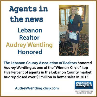 Audrey-Wentling-Lebanon-Award-2013