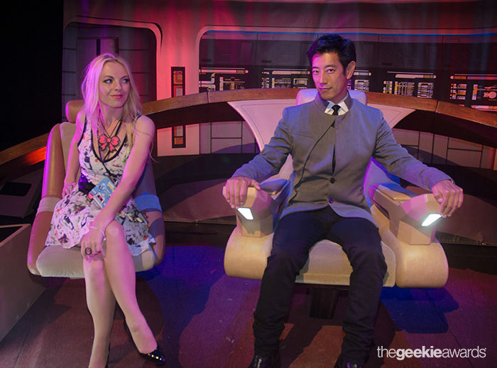 Grant Imahara at The 2013 Geekie Awards (by Eleonora Barna Photography)