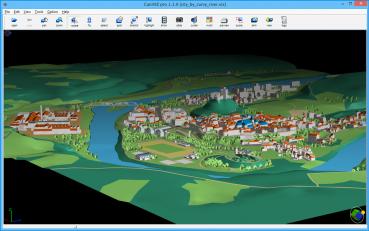 CaniVIZ 3D Pro on Windows