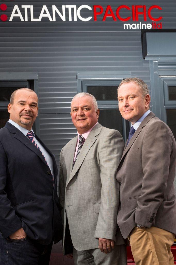 APM Directors; L-R:  Leroy Bishop, Phillip Rodrigues, and David Hale
