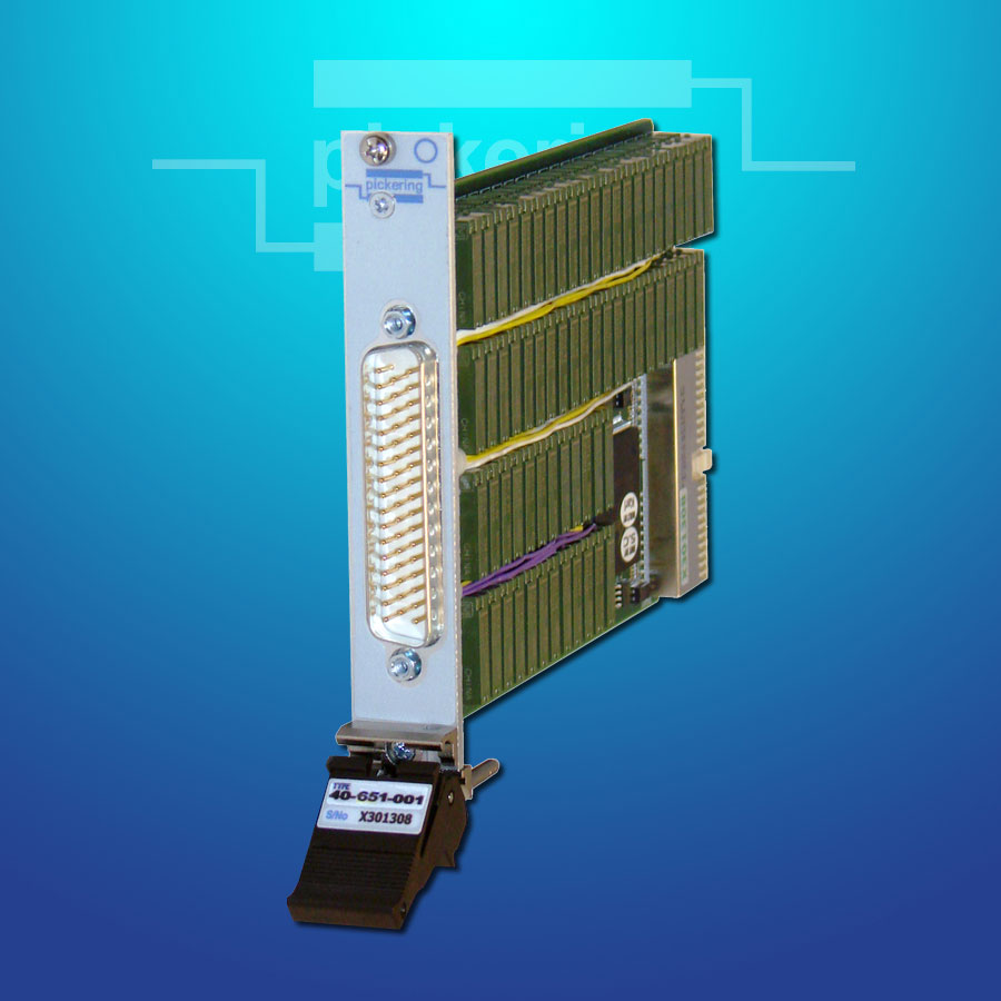 Pickering Interfaces' High-Density PXI Multiplexer