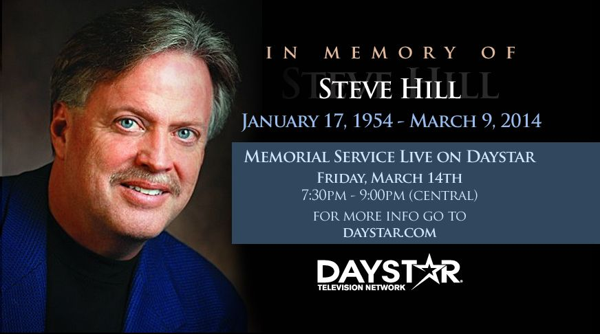 In Memory of Steve Hill