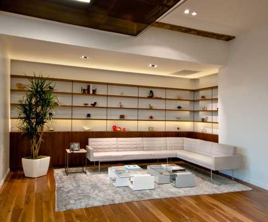 Freemark Financial, Beverly Hills, CA - Lighting Design by Oculus Light Studio