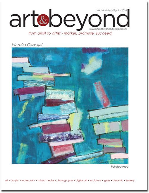 Art & Beyond March/April Cover 2014