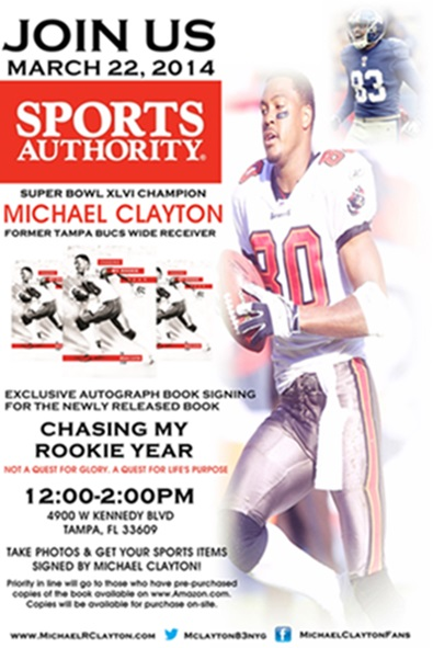 Michael Clayton Book Signing