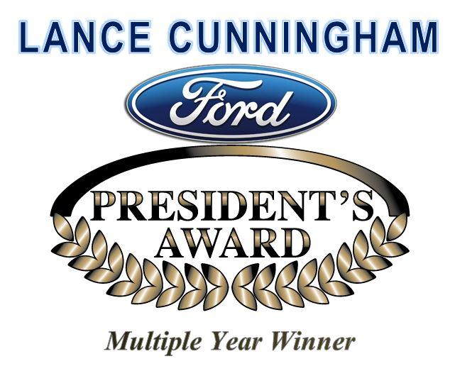 Lance Cunningham Ford Earns Presidents Award