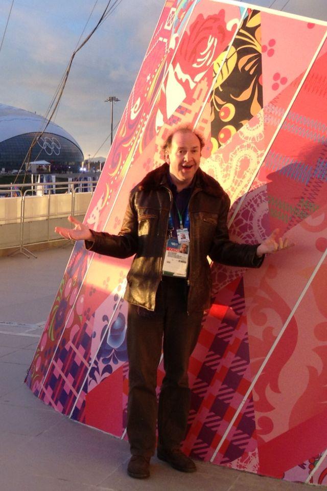 John Cavanagh in Sochi