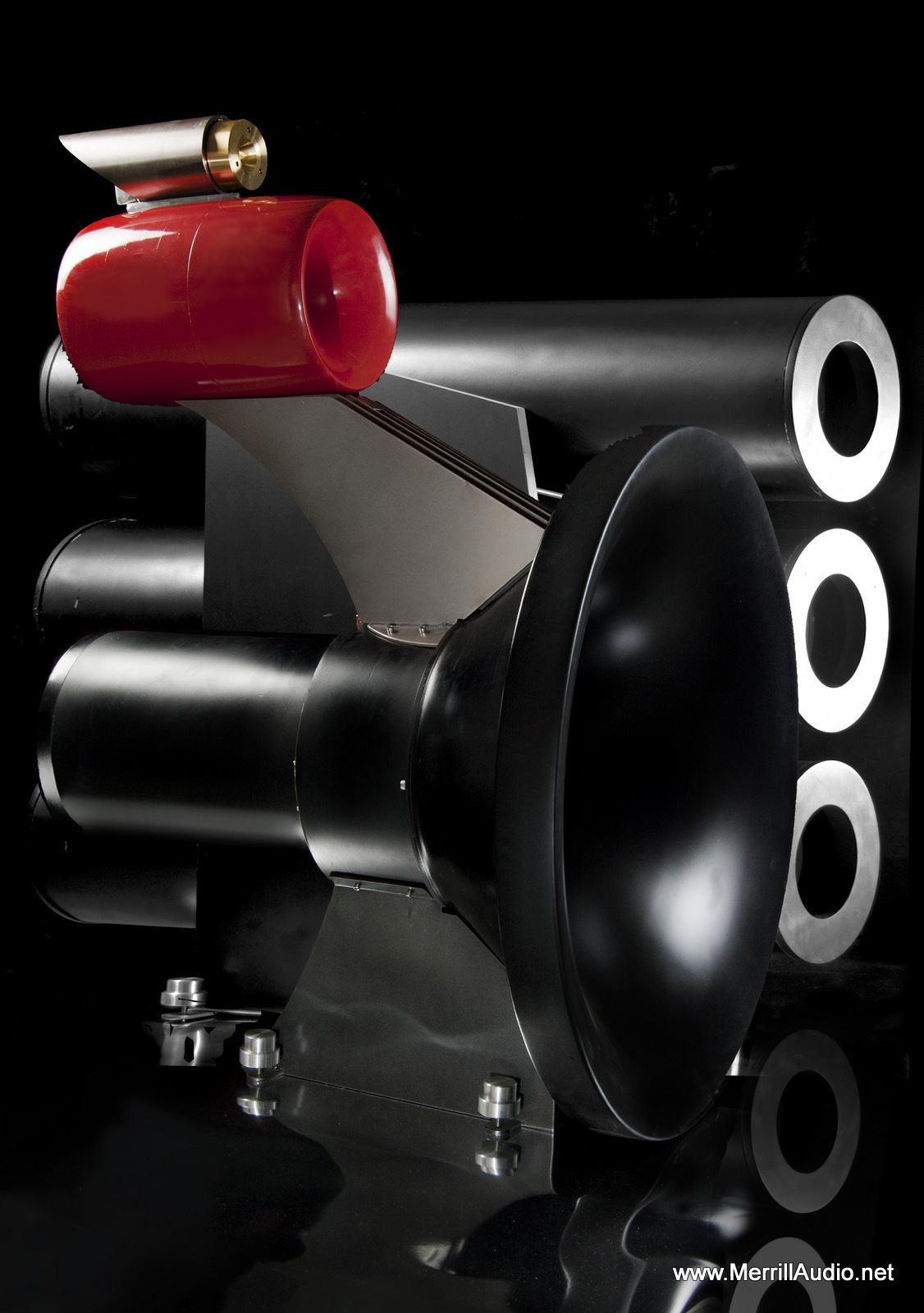 Stacatto Horn Speakers with Bass