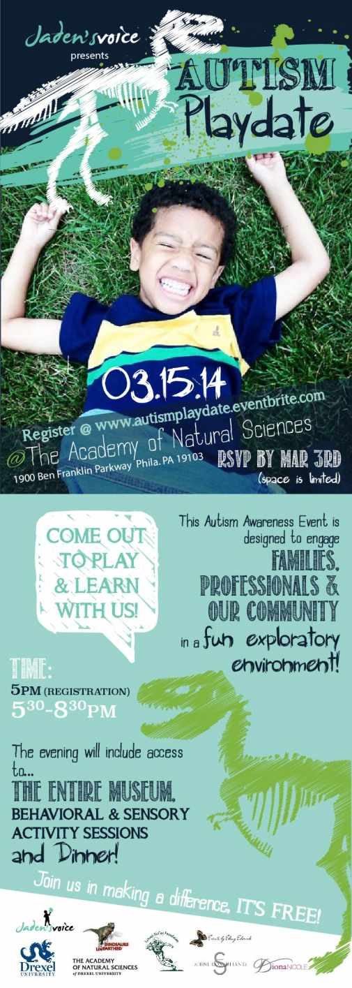 Autism Playdate Flyer
