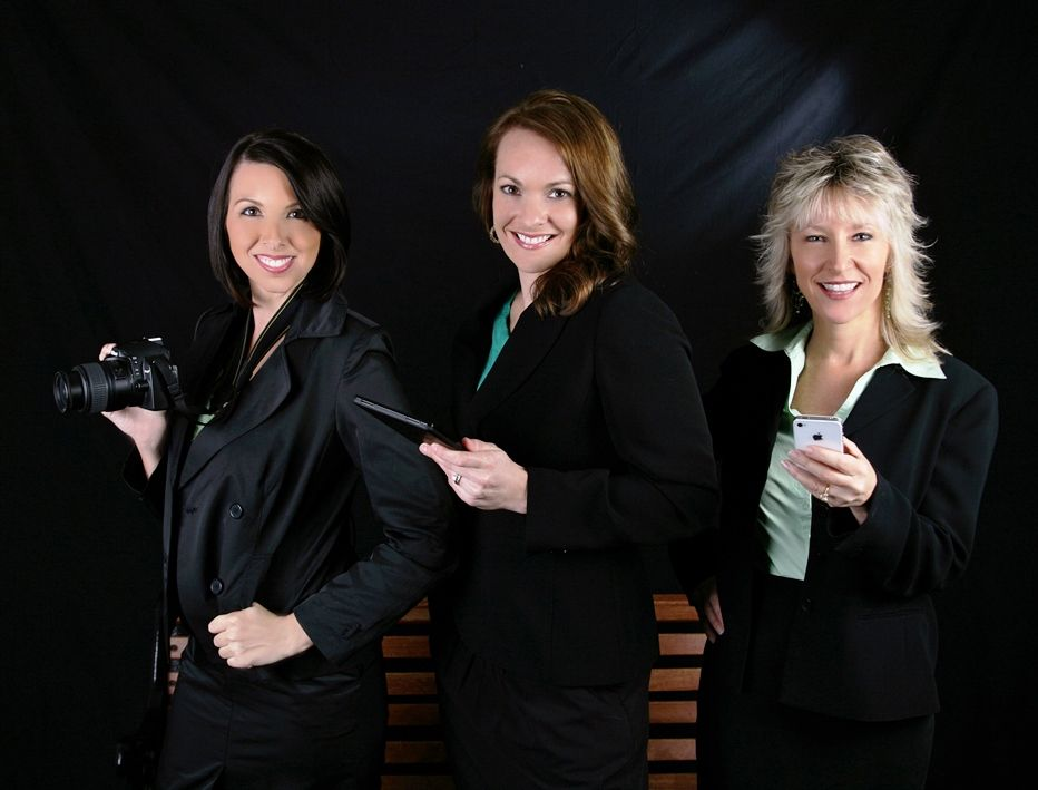 Left to Right: Brandi Fowler, Meredith Rodriguez, and Cindy Dalecki.