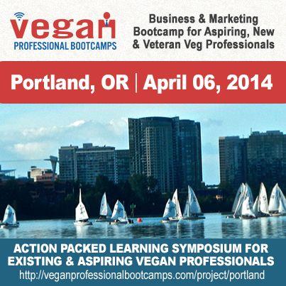 Portland Vegan Professional Bootcamp
