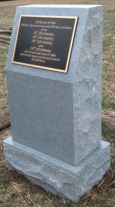 Regular Army Monument at Kennesaw Mountain NBP