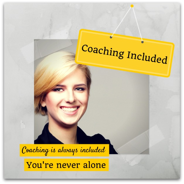 Personal coaching included