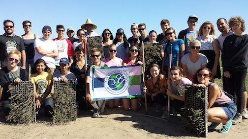 The Grauer School's recent expedition included visiting organic farms.