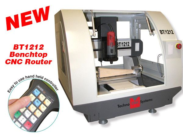 Techno BT1212 Benchtop CNC Router
