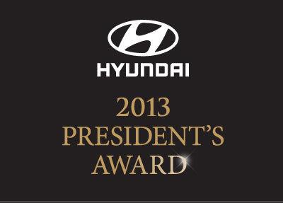 2013 President's Award Winner