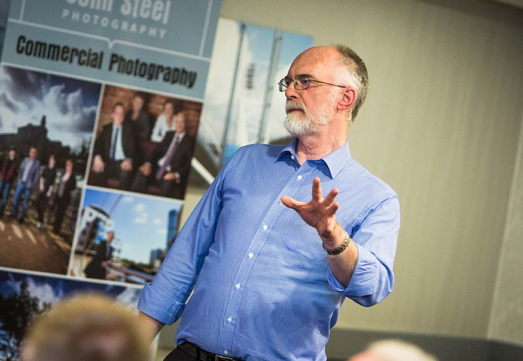 Pete speaking at Kirkless Business Conference 2013
