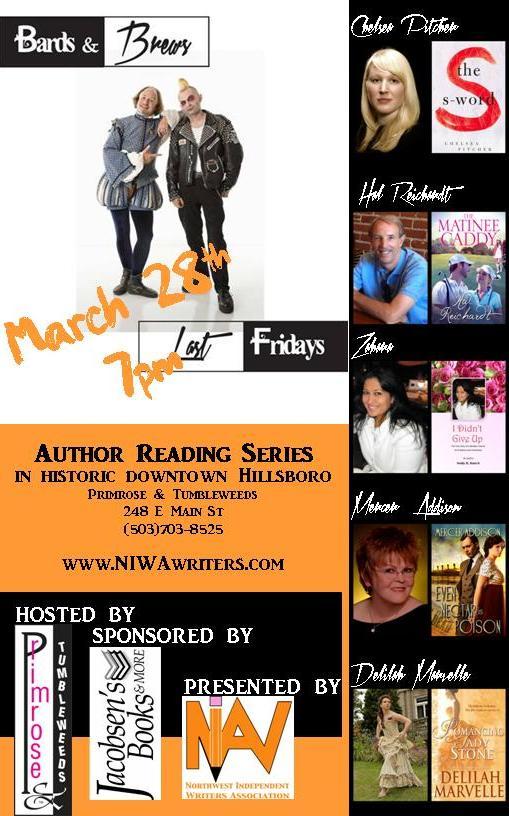 2014 Bards & Brews flyer - March