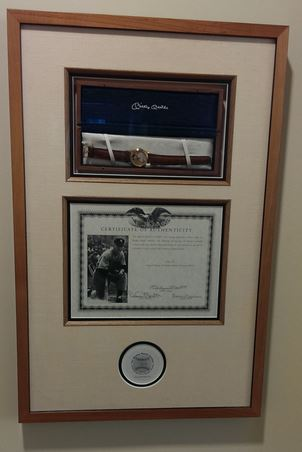 Delray Beach Public Library Adds Rare Mickey Mantle Watch