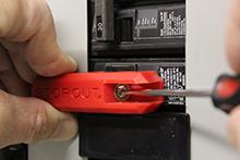 Simple Circuit Breaker Lockout part #KDD170