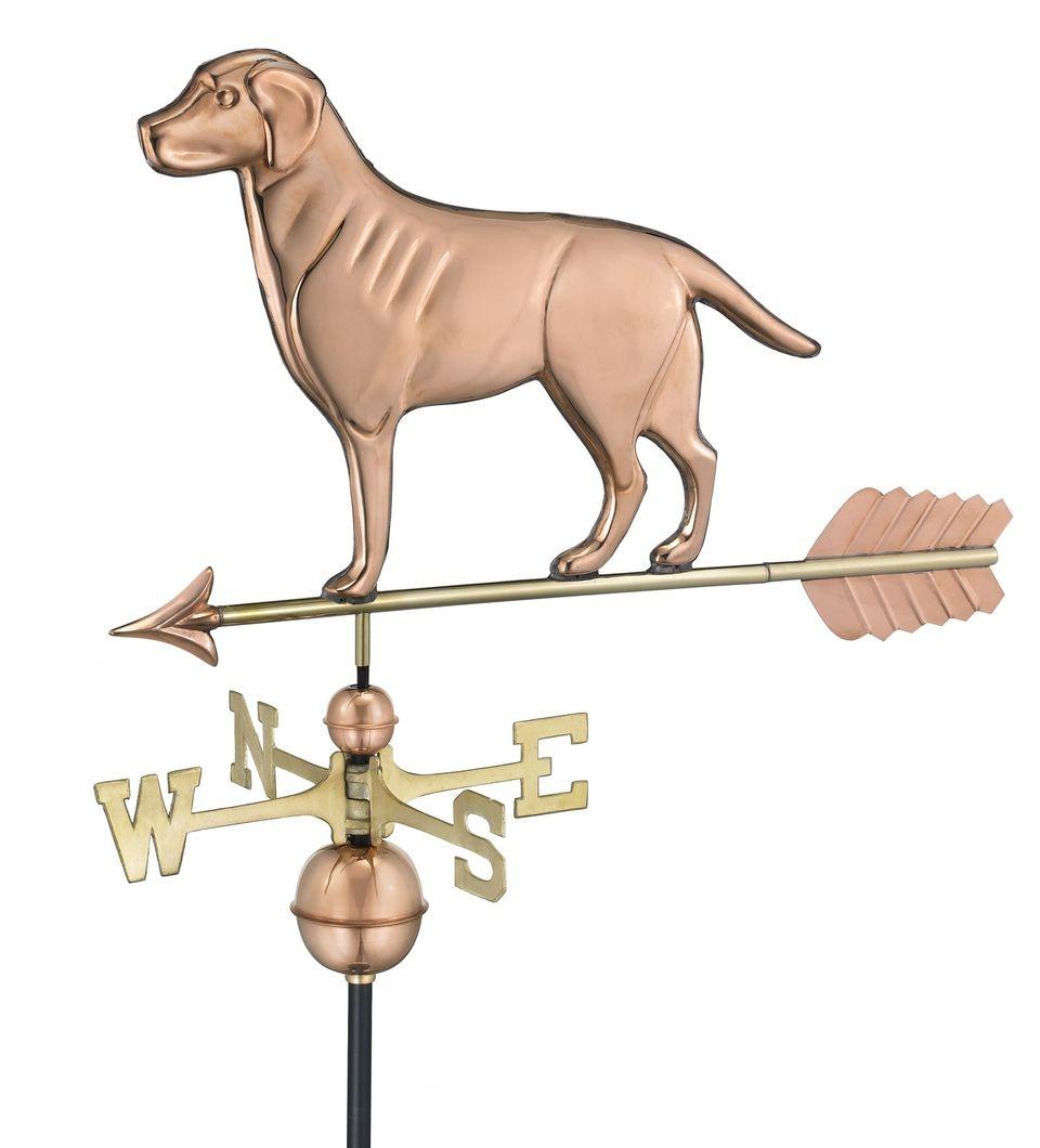 Example of Copper WeatherVane from WeatherVanes.com
