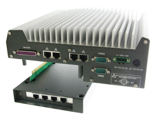 Fanless Box PC Nuvo-3000 by Acceed
