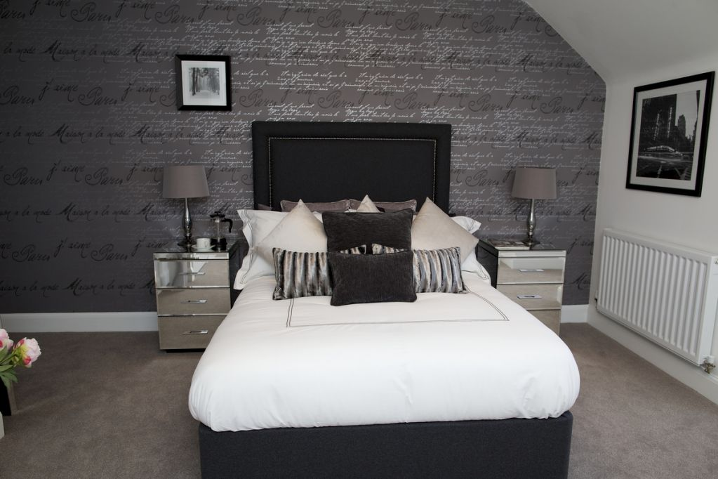 Miller Homes, The Meadows in Ollerton Master Bedroom