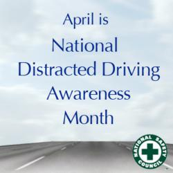 Image result for national distracted driving awareness month