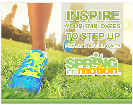 Upgraded Corporate Wellness Program, Spring Into Motion
