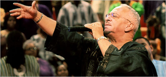 Dr. Jeremiah Wright will be the guest preacher April 10-11 at Trinity Church, DC