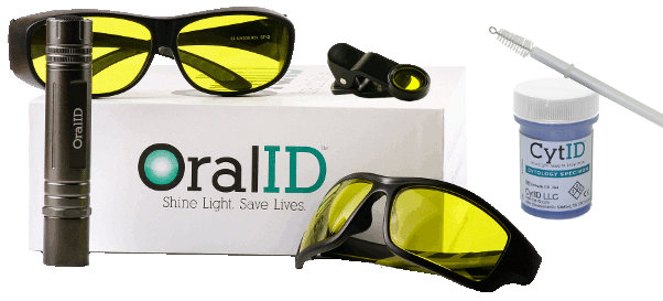 CytID & OralID Kit with included SmartFilterID for easy photo documentation