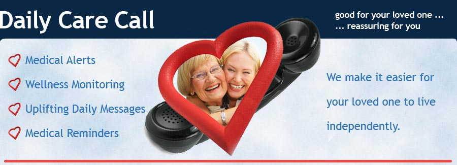 Daily Care Call Banner