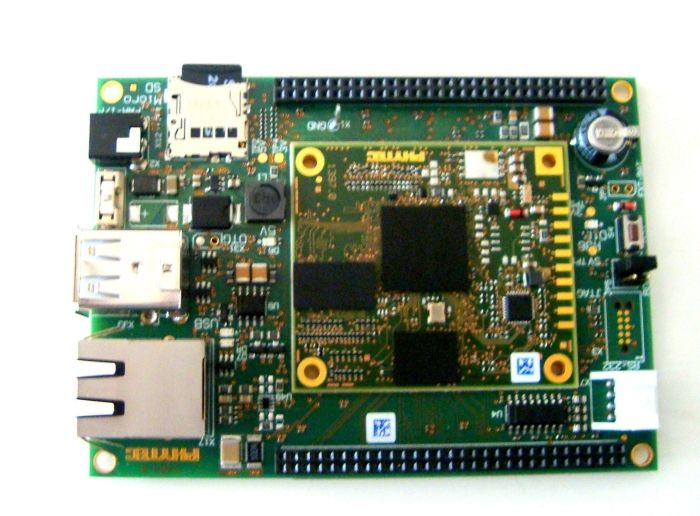 phyBOARD RANA-AM335x SBC