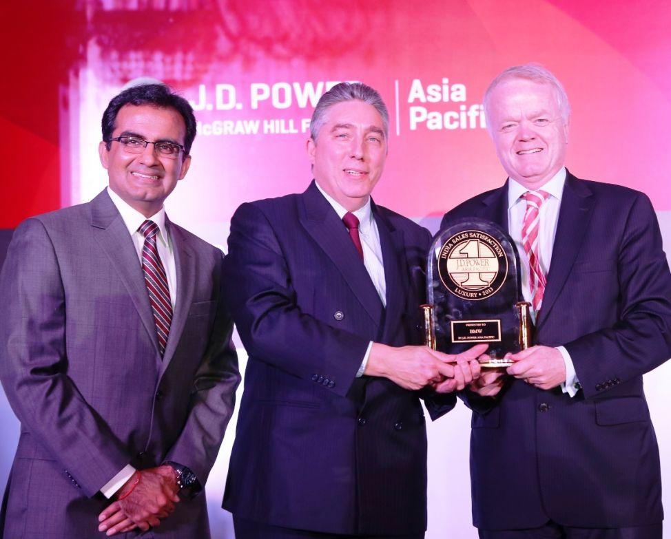 From the Right- Mr. Philipp von Sahr, President, BMW Group India