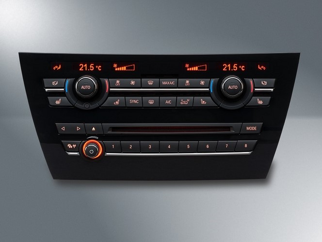 Preh developed and produced the center stack control system on the new BMW X5.