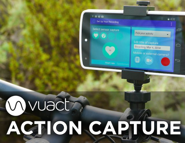 Action Capture is a smartphone app and supported sensors
