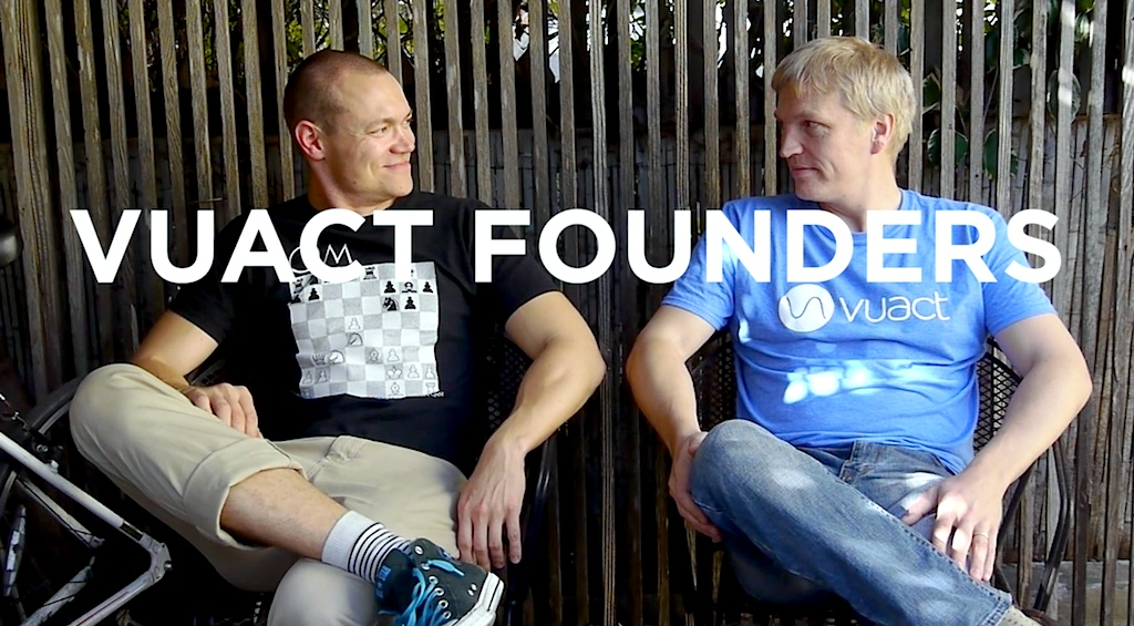 Vuact founders Mikko & Kalle