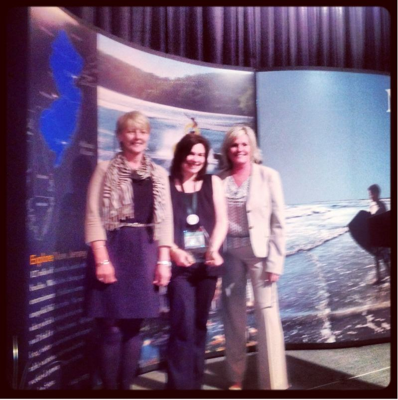 NJ Tourism Award Presentation, Clark, Pepenella, Franz