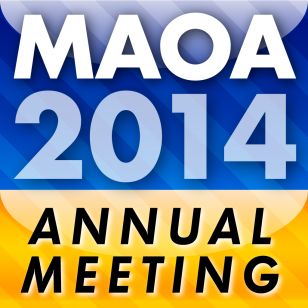EventPilot conference app for MAOA 2014 meeting