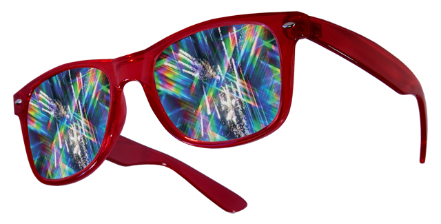 Diffraction Rave Glasses
