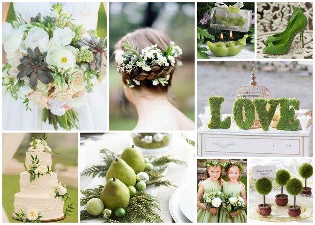 Green Wedding Idea
