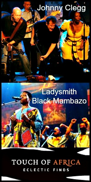LadySmith Black Mombazo and Johnny Clegg to Perform at Van Wezel