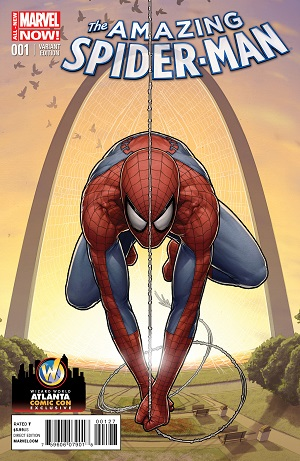 Amazing Spider Man #1 Exclusive Variant Cover by J