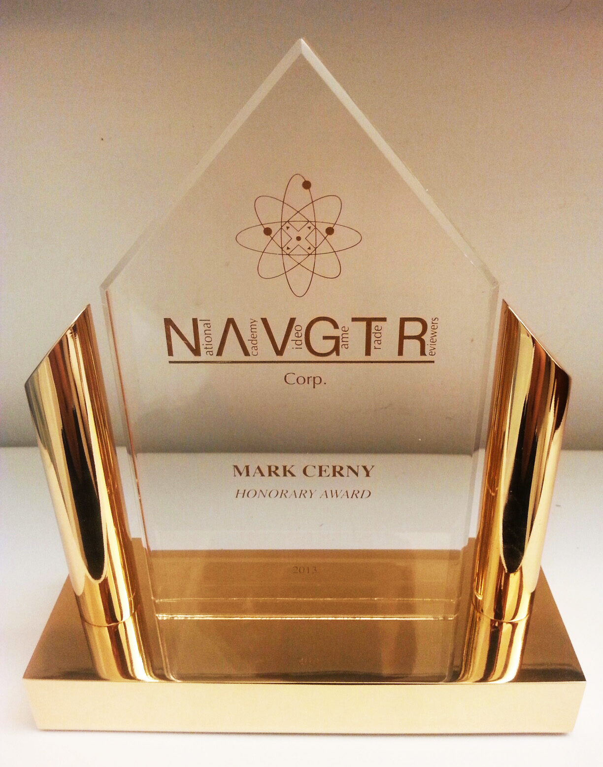 NAVGTR Gold Award