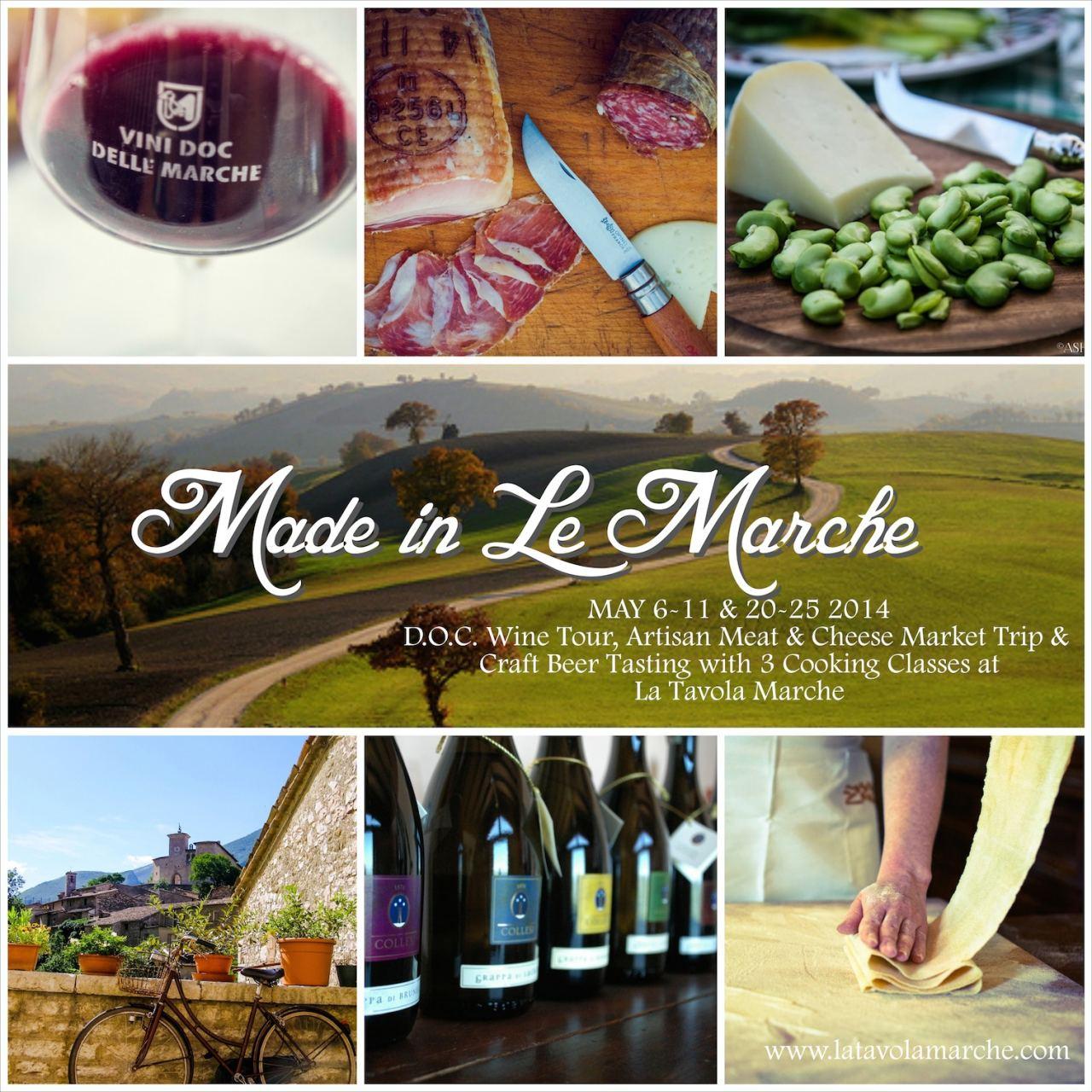 Made in Le Marche, Gourmet Italian Getaway