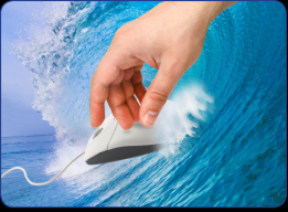 Let Your Fingers do the Surfing!