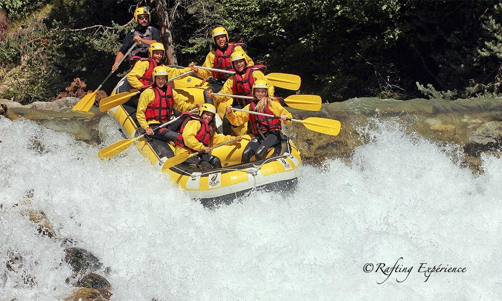 White Water Rafting Serre Chevalier