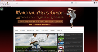 Fire Breather Supply online guide for martial arts www.firebreathersupply.com